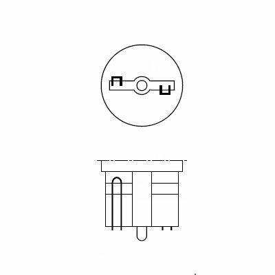 Цоколь W2,1x9,5d