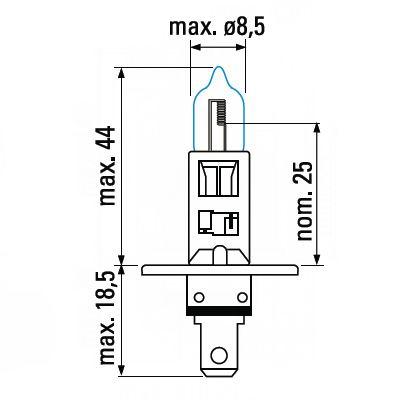 Лампа H1